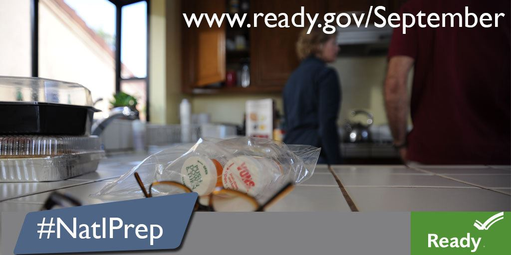 National Preparedness Month Medication Graphic JPEG