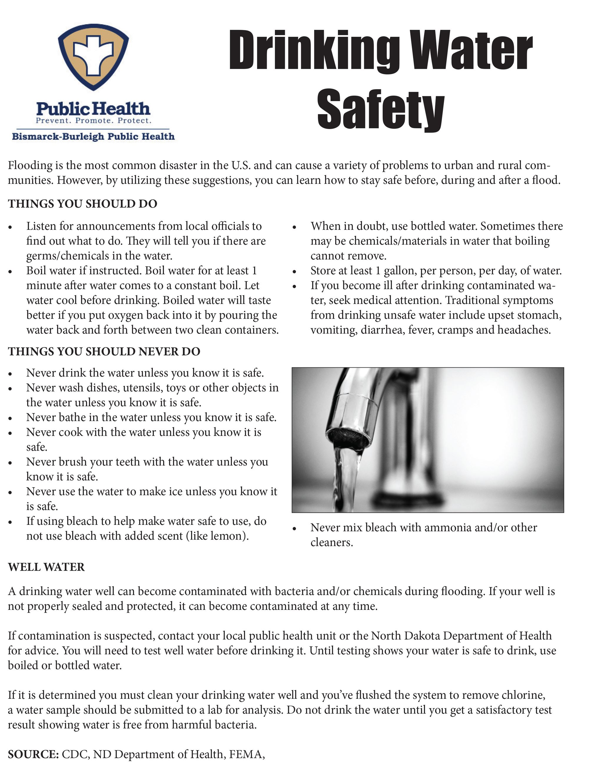 Drinking Water Safety BBPH-1