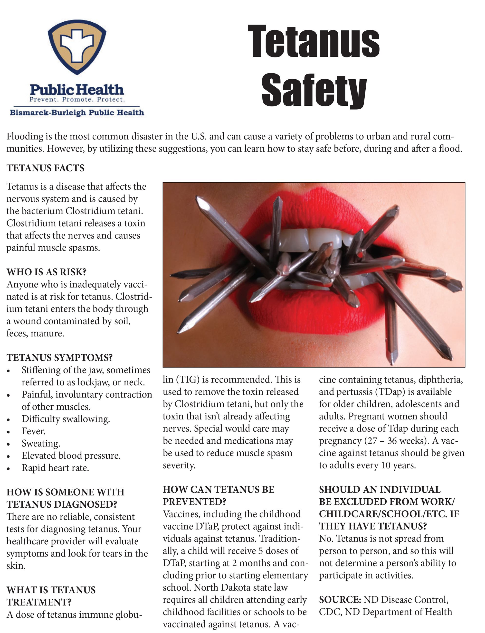 Tetanus Safety BBPH-1