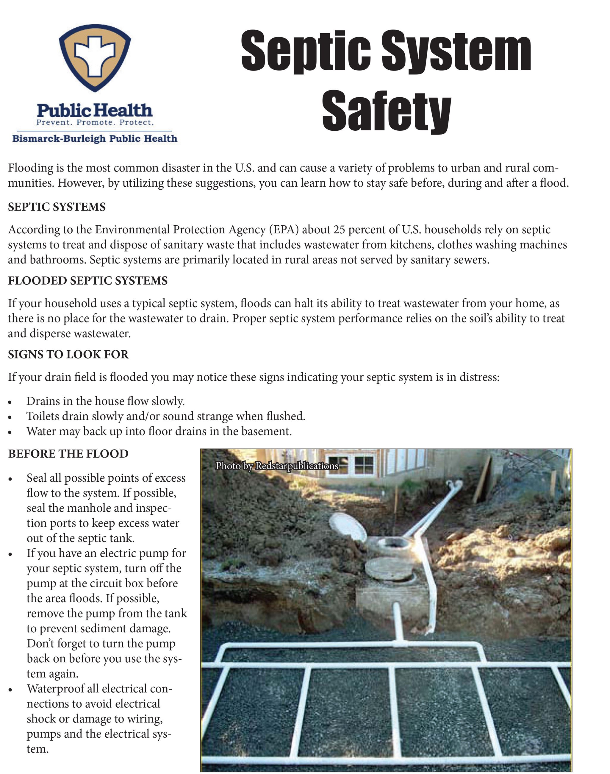 Septic System Safety BBPH-1