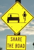 Share the Road Signage